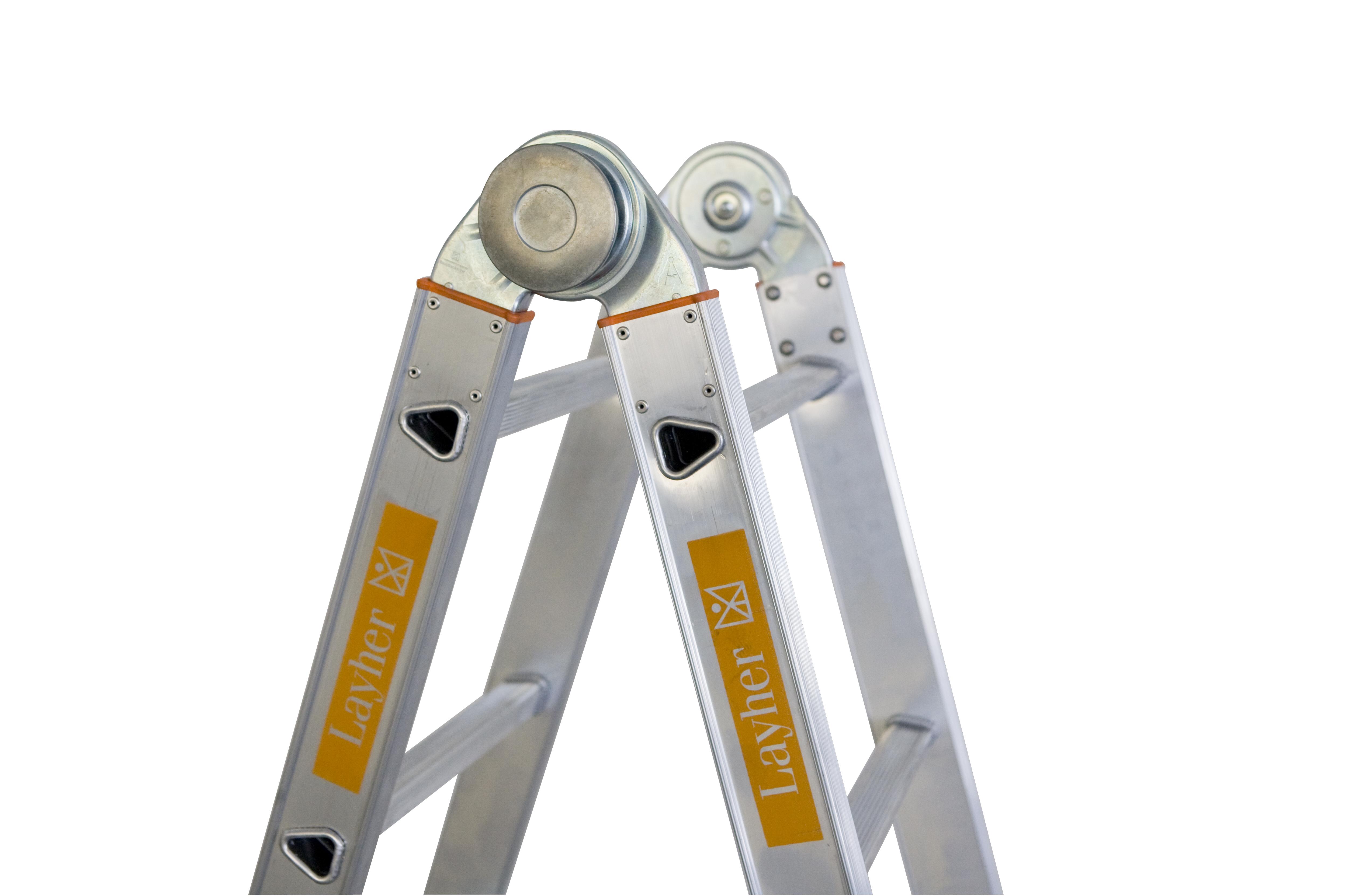 King ladder profi leiter meter aluminium teleskopleiter