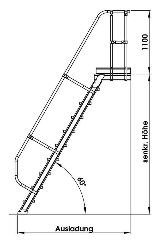 Zweiter Handlauf 2 Gelander Fur Gunzburger Podesttreppe 60 4